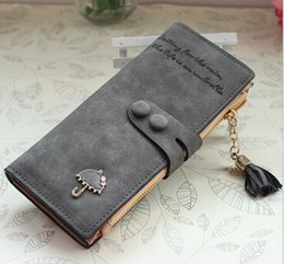 Charm in hand High Quality Special Design Women Wallets PU Leather Long Style Lady Wallet Cute Girl Purse