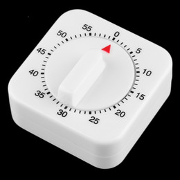 Wholesale 1pcs Square Minute Mechanical Kitchen Cooking Timer Food Preparation Baking popular new