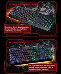 Wholesale MotoSpeed K70 Color Backlight and Luminous Character Gaming Keyboard with Adjustable Feet USB Powered for Desktop Laptop y