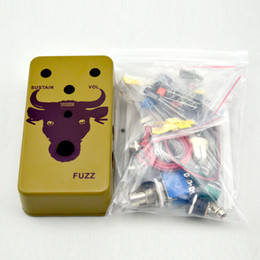 Build your Fuzz Face Pedal DIY box kit@DIY FUZZ PEDAL Green BOX
