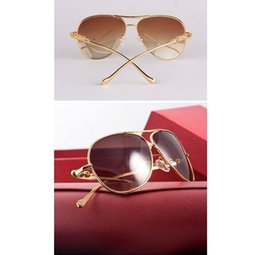 Wholesale The original quality Classic luxury sunglasses for men and women with package