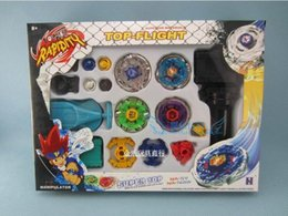 Wholesale Beyblade Metal Fusion set Children Super Battle DHL style Super top Metal Fight Beyblade beyblade toy set metal masters dolls toys