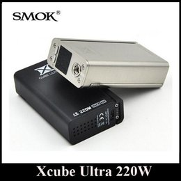 Wholesale Original SMOK Xcube Ultra W Box Mod Dual OTA Technology Bluetooth Vaporizer Mod X Cube Ultra