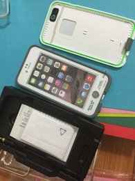 Wholesale Hot Sale Life Water Proof Case For iPhone s fre Waterproof Shock Proof Case With LOGO And Retail Packaging