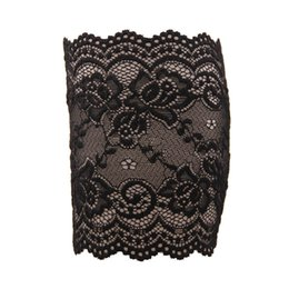 Wholesale-Lovesky Hot Sale Summer Women Flower Pattern Stretch Lace Boot Leg Cuffs Soft Laced Boot Socks Freeshipping & Wholesale