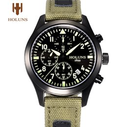 Wholesale Holuns Sale Special Reloj Watch Genuine Poetry Outdoor Sports Watch Military Form Waterproof Multifunctional for Men Male