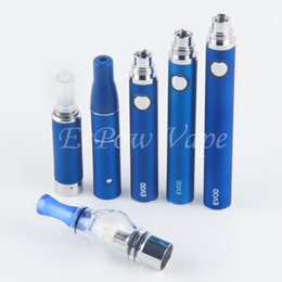 Wholesale Hemp pen vaporizer tank vape kit dry herb Atomizer liquid MT3 Vaporizer wax clearomizer eGo evod battery electronic cigarettes