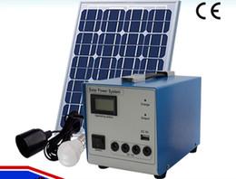 Wholesale Solar Portable Generator System - 10W solar power generation system small household solar energy generator outdoor portable emergency lighting system