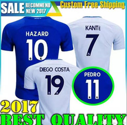 17 18 MORATA jerseys soccer MORATA Hazard Diego costa Kante Camiseta BATSHUAYI football shirt BAKAYOKO RUDIGER WILLIAN maillot