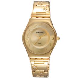 Compra Online Mujer del estilo de reloj resistente al agua-WeiQin marca de diseño nuevo y elegante estilo casual de moda las mujeres de cuarzo resistente al agua de relojes baratos relojes de diseño