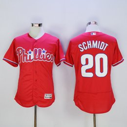 Wholesale 2016 New red Philadelphia Phillies jersey mike schmidt Franco Aaron Nola Carlos Ruiz Ryan Howard Stitched Name Number