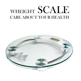 Wholesale Super sensitive Digital LCD Electronic Glass Bathroom Weighing Scales Weight Loss Bath Health cm KG Care About Your Health