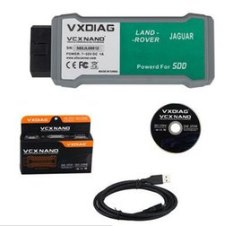 Wholesale Newly arrived product VXDIAG VCX NANO for Land Rover and Jaguar Software SDD V145