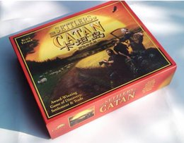 Wholesale full english version settlers of catan basic players expansion pack cards game board game for russia brazil