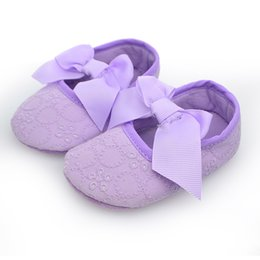 wholesale Spring Soft Sole Girl Baby Shoes Cotton baby First Walkers Fashion Baby Girl Shoes Butterfly-knot First Sole Kids Shoes