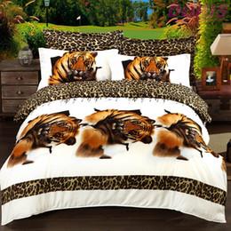 Wholesale Cheap D oil painting bedding set queen king size Cotton bed sheet duvet cover pillowcase set Home textile