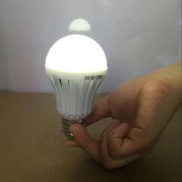 Wholesale Emergency Light Bulb LED Emergency lamp Bulb Automatic Charging W w w W Cool White Rechargeable Battery E27 v Smart Bulbs