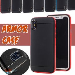Bumblebee Cases Hybrid TPU+PC Heavy Duty Rugged Armor Robot Shockproof Pretective Cover Case For iPhone X 8 7 Plus 6S Samsung S8 S7 Edge