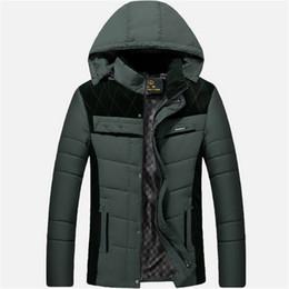 Wholesale Fall para hombre del nuevo diseño ocasional de la chaqueta con capucha de algodón de invierno invierno de los hombres de la chaqueta de traje para grados Celsius