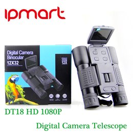 Wholesale DT18 quot TFT HD P MP LCD Camcorder DV Binocular Digital Camera Telescope Outdoot High Power Definition Night Vision Hunting Binoculars