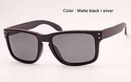Le sport pc à vendre-Hommes femmes sport lunettes de soleil mâle noir mat signature rouge 9102 mode lunettes polarisées lunettes de soleil original boîte 55mm dans le cas