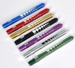 Wholesale Best Price Pen Flashlight Torch Doctor Nurse EMT Emergency Medical First Aid Penlight Pen Light Torch Light