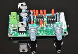 Wholesale ome Audio Video Equipments Amplifiers mono preamp board NE5532 low pass filter board dedicated subwoofer use in power amplifier board mo