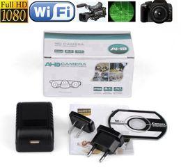 Wholesale 1080P HD Plug spy Camera Z9 wireless IP hidden camera mini socket camera night vision Covert surveillance Spy Cams without camera hole
