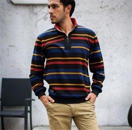 Wholesale Winter Fringe Cashmere Plus Warm ale Cotton Jacket New Men s Size Slim Long Sleeved Sport Sweater T shirt Fashion