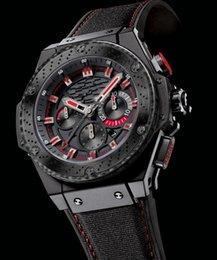 Wholesale Brand New King Power F1 Black Ceramic mm Mens Quartz Watch Luxury AAA Top Quality Men s Sport Wrist Watches
