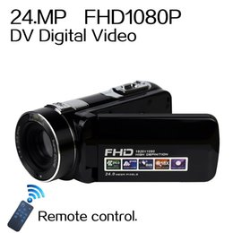 Wholesale 2016 NEW MP DV Digital Video Camera professional Full P xZoom hd digital camera Camcorders photography backdrops G G G memory