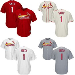 Wholesale St Louis Cardinals Jerseys Youth Ozzie Smith Kids Baseball Jersey Name and Number Stitched Embroidery logos size S XL