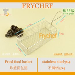 Wholesale restaurant plates mini fry basket fried food basket french fries basket serving food basket mm