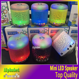 Wholesale WS Y93 Mini Wireless Speaker For Subwoofer Bluetooth Speakers led light TF Card OEM Support For Smart phone MP3 Music Player VS S10 S11
