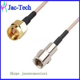 Wholesale 100x RF pigtail cable SMA male to FME male with RG316 cable China supplier