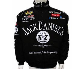 Wholesale NEW Brand original off road karting Black For Jack daniel karting auto coat f1 race suit MOTO driver motorcycle jacket