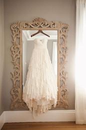 Boho Fashion Summer Beach Wedding Dresses 2016 Sweetheart Pleats Draped Tiers Country Bohemian Style Wedding Gowns