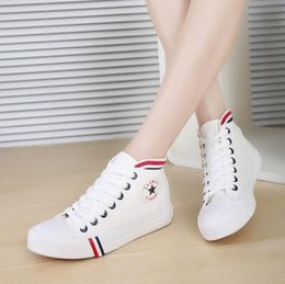 Hot sale high quality Women canvas shoes Fashion solid high-top women Casual Shoes breathable flat shoes woman 2016 Zapatillas