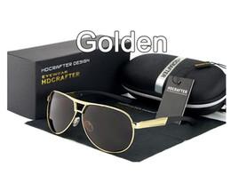 Brand Polarized Sunglasses Latest design Coated anti reflection Aluminum magnesium alloy frame outdoor Anti-Glare Elegant glasses box E030