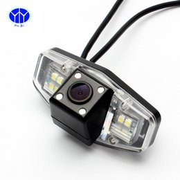Wholesale 170 Wide Angle Car Rear View HD Camera IR Night Vision TV Lines Reverse Parking Camera For HONDA ACCORD CITY ODYSSEY