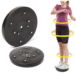 Wholesale Fitness non slip plastic balance board drive to the waist twister disk abdominal exerciser health functional equipment DR DT019
