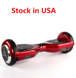 Wholesale 2016 New Inch Two Wheels Balance Scooter Smart Scooters Electric Hoverboard Skateboard Self Balancing Wheel Drop Shipping USA Stock
