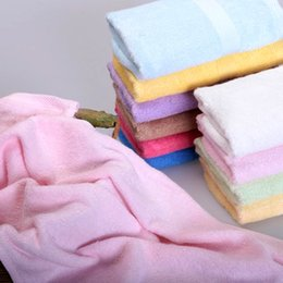 Wholesale Travel Baby Face Bath Towel Bamboo Microfiber Sport Toallas Serviette Luxury Hair Towels Summer Cotton Towel Shower