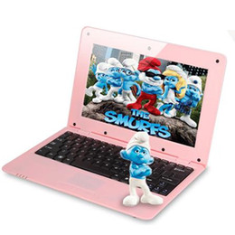 Wholesale inch Mini Netbook Quad core GHz GB GB MP Camera Cheap Laptop notebook fast shipping