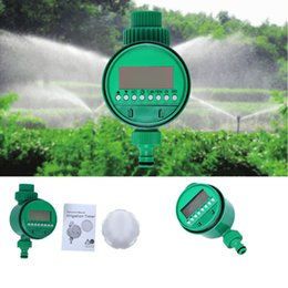 Wholesale LCD Display Automatic Electronic Water Timer Garden Irrigation Controller Solenoid Valve Digital Intelligence Watering System