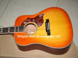 New Arrival Lemon Burst Acoustic Guitar High Quality Guitars Wholesale From China
