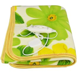 Wholesale Security Single Bed Plush Electric Heated Blanket Electric Heating Blanket Bed Body Warmer Carpets Heated Carpet CM