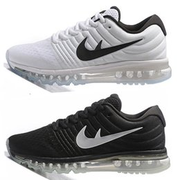 Wholesale Full length air bubble cushioned sole Max Shoes New Max Shoes for men women white black orange blue green with box