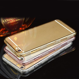 Clear Crystal Cell Phone Cases Transparent Rose Gold Phone Covers with Soft TPU for Huawei P9 Mate 8 34