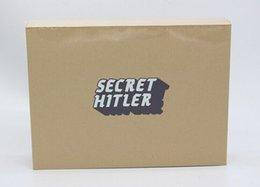 2016 newest item secret hitler game cards Kickstarter Edition Board Game